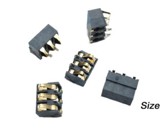 Mobile Phone Battery Holder Connector Contact Plate 6 8