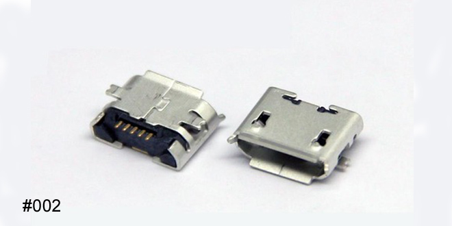 Micro USB Chargin pin flat