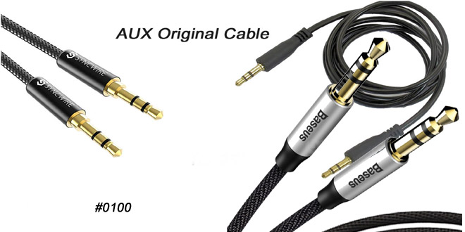 AUX Cable 3.5MM Jack 1M Male To Male