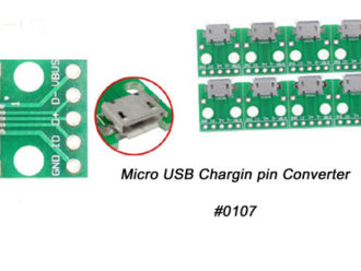 Micro USB DIP PCB Board Converter Femal Connector