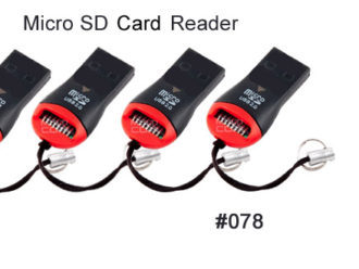 High Speed Micro SD Card Reader USB 2.0