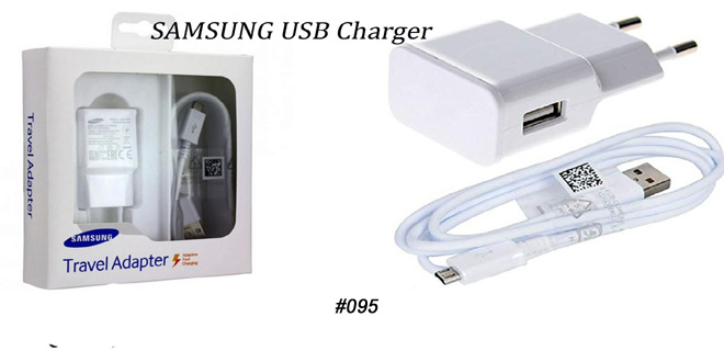 Samsung wall charger with usb cable