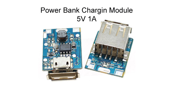5V 1A Power Bank Charging Module