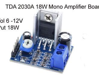 TDA2030A Amplifier Board